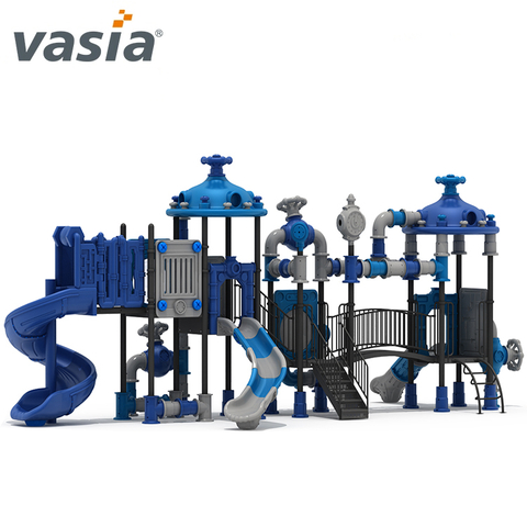 Kids Fun Slide para Playset al aire libre