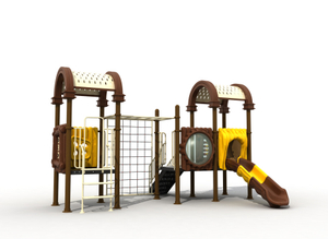 Marco de escalada para niños Adventured Super Design Garden Use con Slide Playground Park
