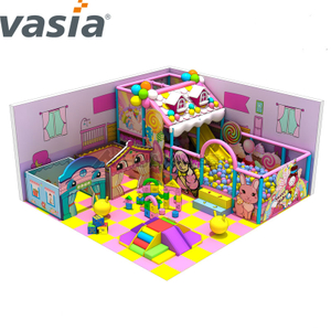 Fiesta de cumpleaños de Small Cafe Toddler Kids Play Area para Indoor Play Center